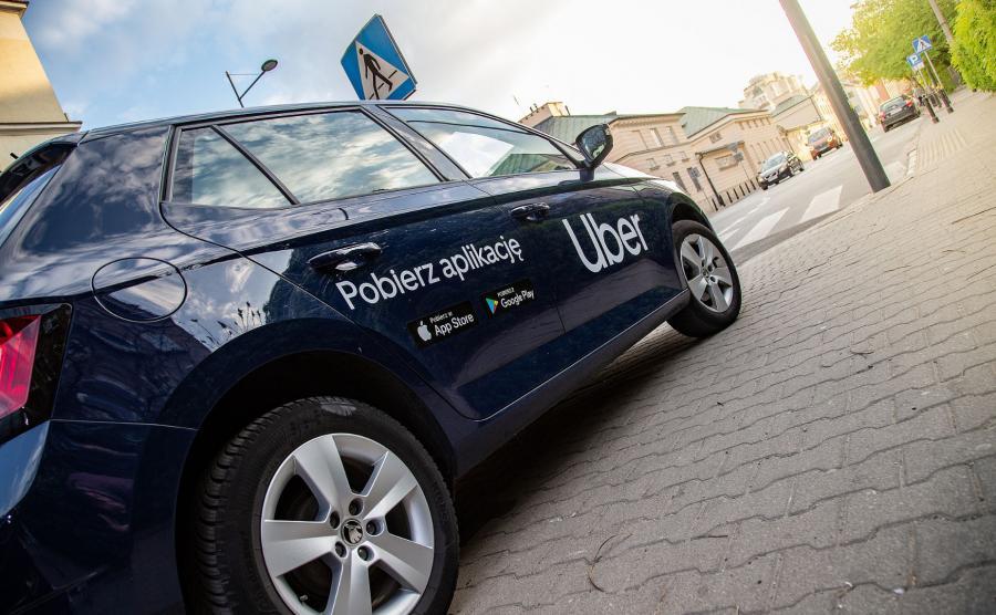 Uber w Warszawie