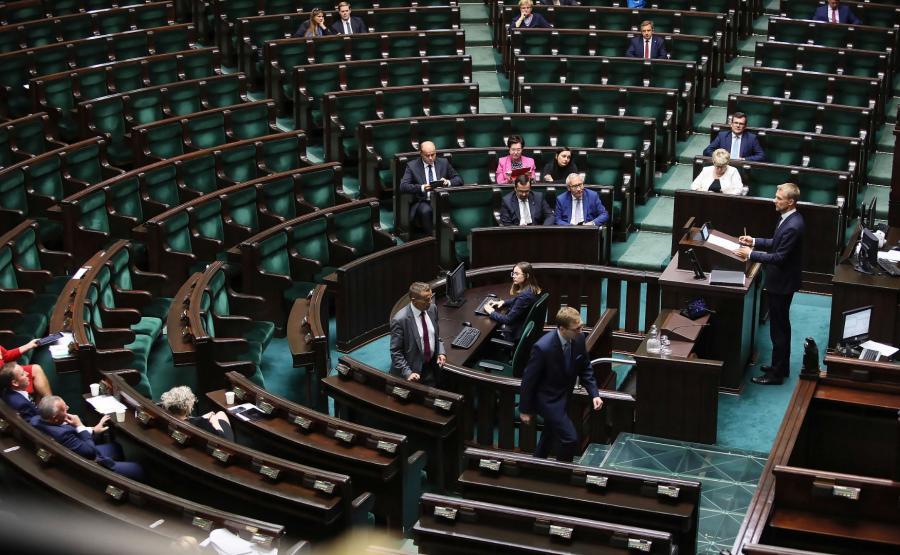 Sala posiedzeń Sejmu