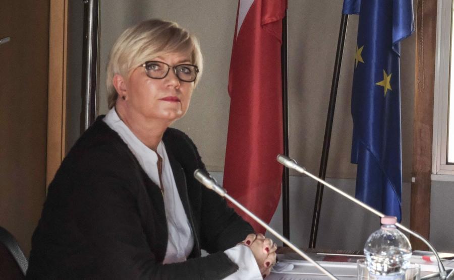 Julia Przyłębska w Poznaniu