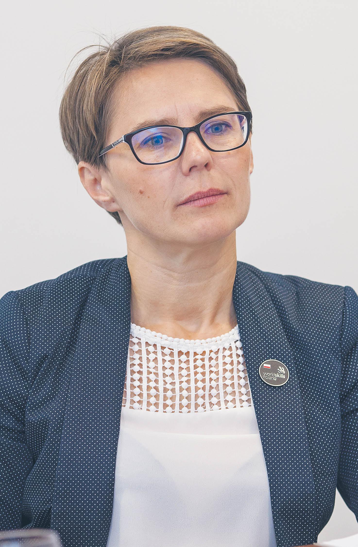 Izabela Laskowska, dyrektor Biura Kształcenia Zawodowego i Edukacji Dorosłych Fundacji Rozwoju Systemu Edukacji