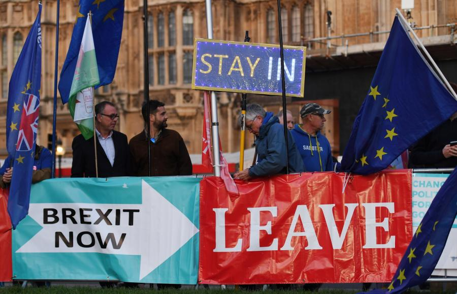 Protesty Brexit