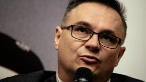 """Piotr Gursztyn historyk i dziennikarz, pracuje w TVP, wydał m.in. """"Rzeź Woli"""""""