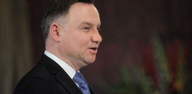 Prezydent o wyroku TSUE: Kwestie, o które pytał SN, są kwestiami politycznymi, które powinny...