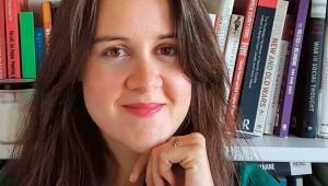 Weronika Grzebalska, socjolożka, wykładowczyni akademicka, doktorantka w Szkole Nauk Społecznych PAN.