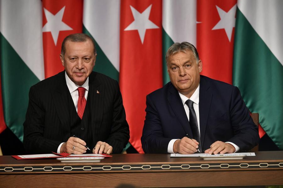 Recep Tayyip Erdogan i Viktor Orban