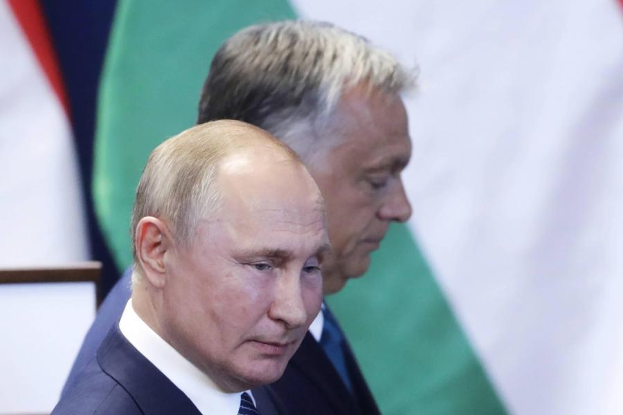 Władimir Putin i Victor Orban