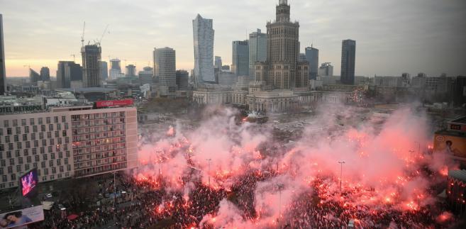 """Niemiec media o Marszu Niepodległości: Demonstracja """"prawicowych ekstremistów"""""""