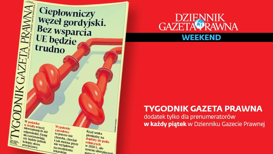 Tygodnik Gazeta Prawna 15 listopada 2019