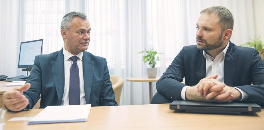 Dariusz Aniećko i Przemysław Koch