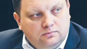 Marcin Chludziński, szef KGHM, fot. Wojtek Górski