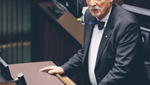 Janusz Korwin-Mikke, lider partii KORWiN