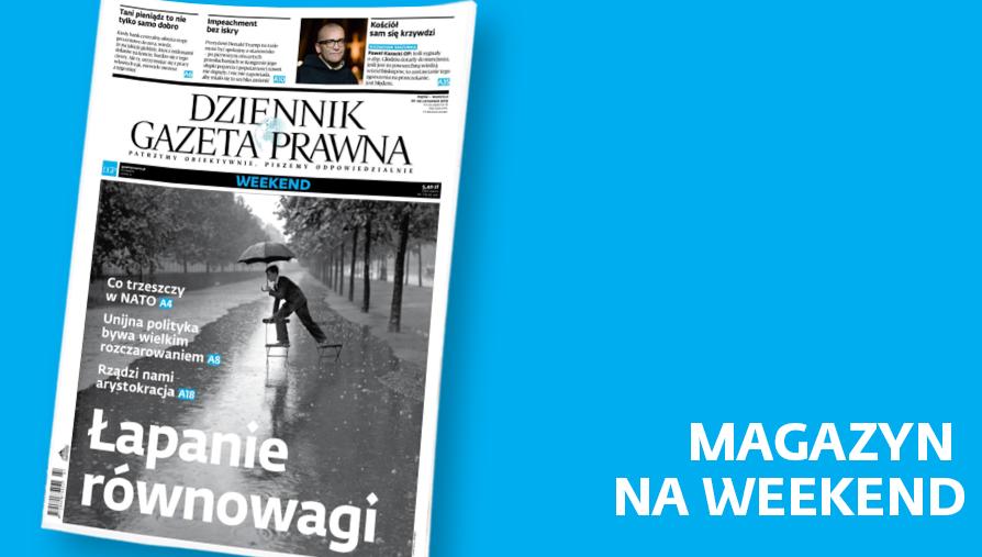 Magazyn DGP 22 listopada 2019 r. Okładka