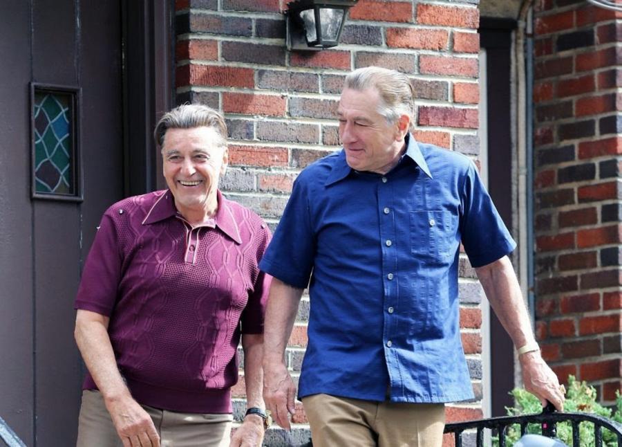 "Al Pacino i Robert De Niro w filmie ""Irlandczyk"" Martina Scorsese"