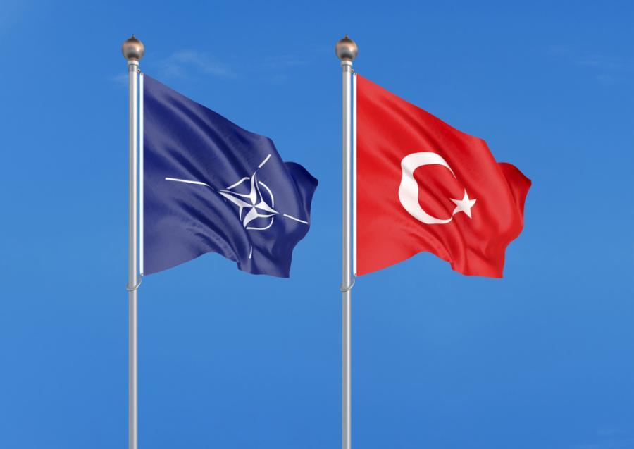 Turcja NATO flagi