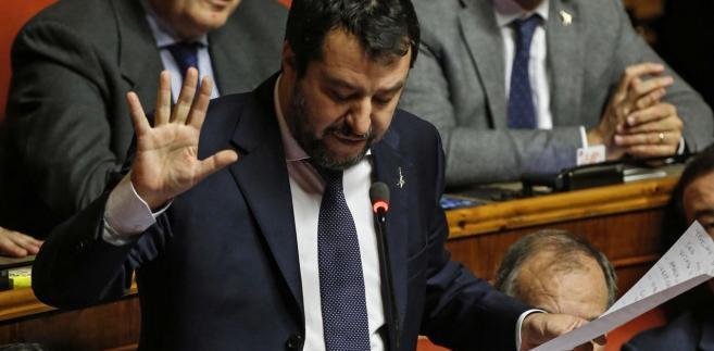 Włochy: Komisja Senatu za postawieniem Matteo Salviniego przed sądem