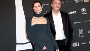 Pawlikowski wraz z żoną Małgorzatą Bela. Nagrody publiczności EFA. Berlin
