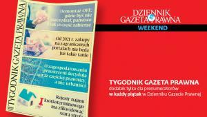 Tygodnik Gazeta Prawna 13 grudnia