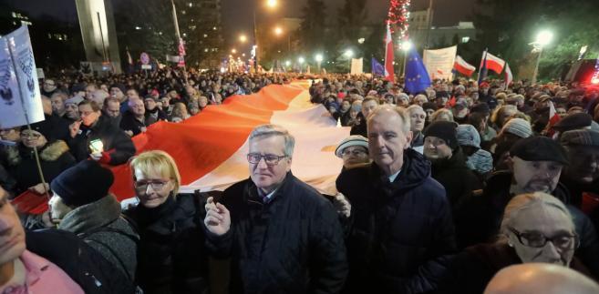 """""""Dziś sędziowie - jutro Ty"""": Protesty pod sądami w całej Polsce"""