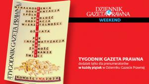Tygodnik Gazeta Prawna 3 stycznia 2020