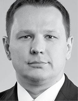 Konrad Kluska członek zarządu Compensa TU na Życie SA Vienna Insurance Group