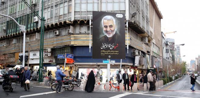 Iran: Rozpoczął się opóźniony pogrzeb Sulejmaniego