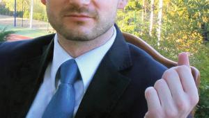 dr Rafał Łyszczek, komornik sądowy przy Sądzie Rejonowym w Bielsku Białej  fot. Materiały prasowe