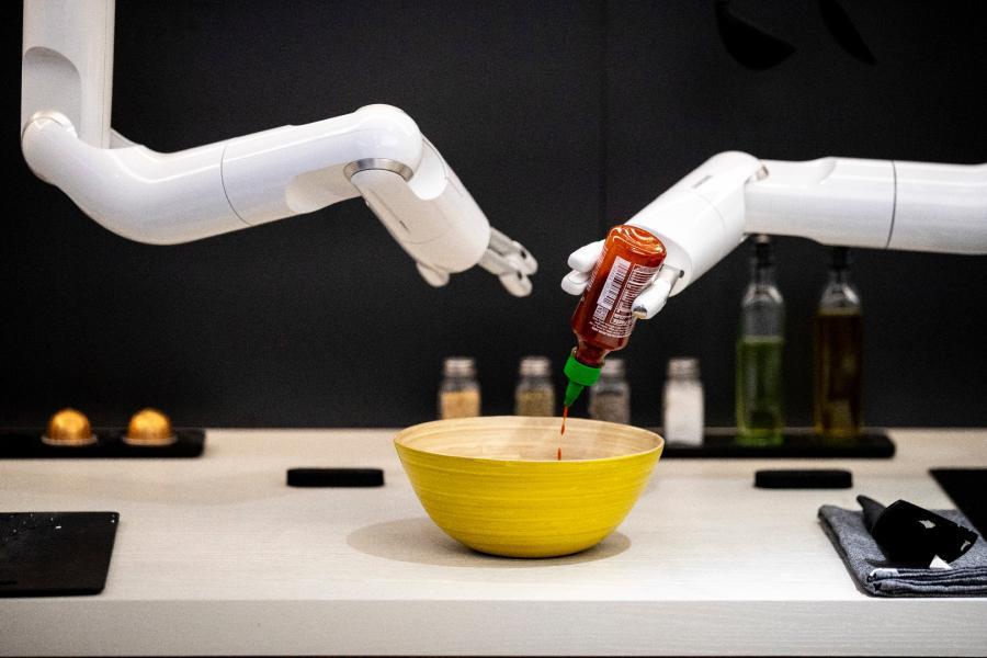 Robot -kucharz od Samsunga