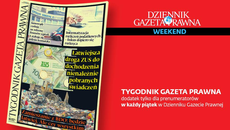 TGP. Tygodnik GP. Okładka. 10.01.2020