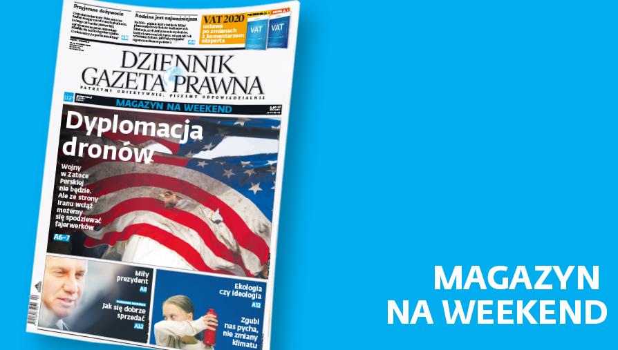Magazyn DGP. Okładka 10.01.2020