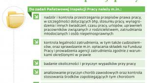 Cele działania inspekcji pracy