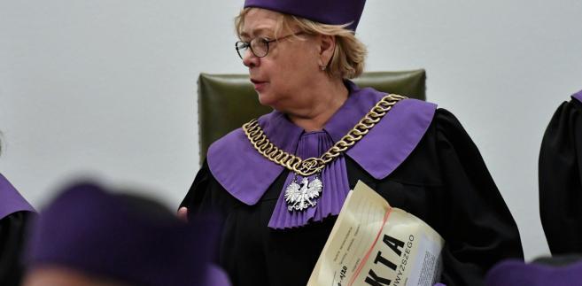 Gersdorf uważa, że Izba Dyscyplinarna SN nie jest sądem. Mimo to przekazała jej kilka spraw do...