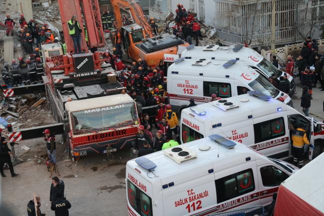Turcja trzęsienie ziemi 26.01.2020