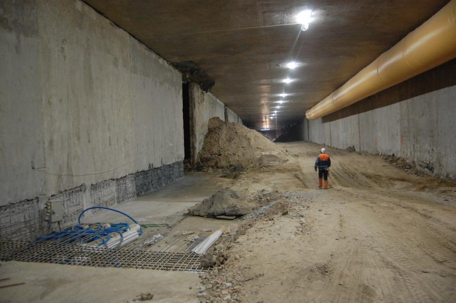 Tunel pod Ursynowem fot. Krzysztof Śmietana