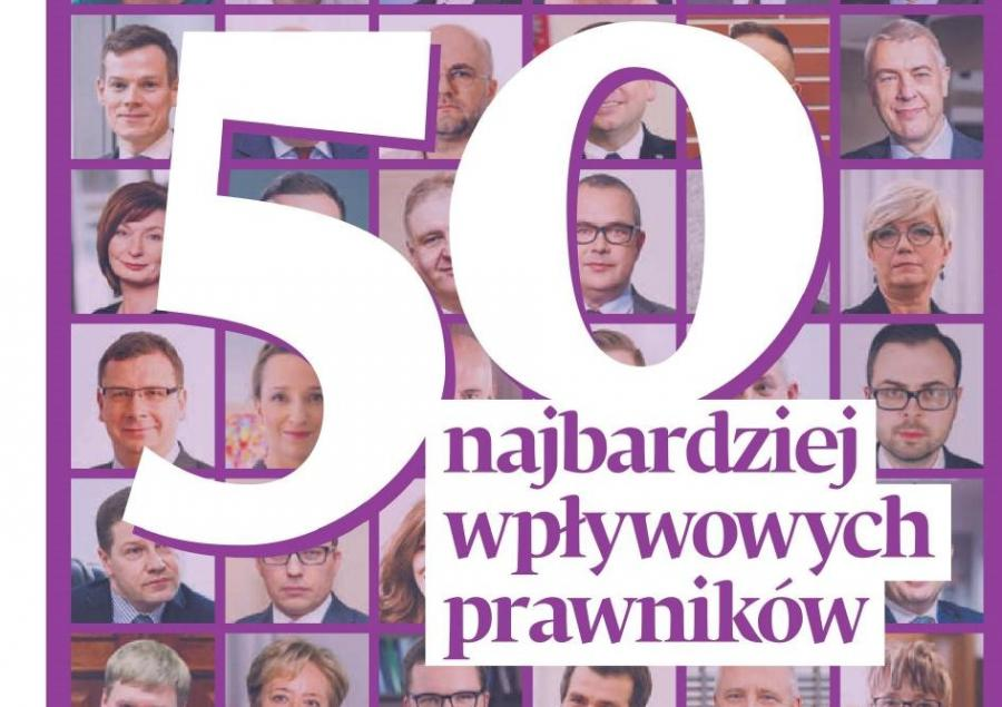50 wpływowych prawników za 2019