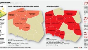 Polsce grozi susza (stan na styczeń 2020)