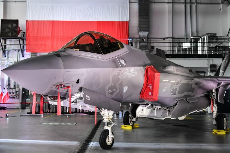 Podpisanie umowy na zakup 32 wielozadaniowych samolotów F-35 dla Sił Powietrznych RP
