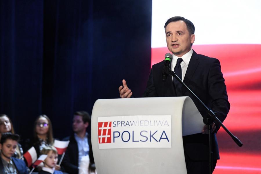 Przewodniczący Solidarnej Polski, minister sprawiedliwości Zbigniew Ziobro