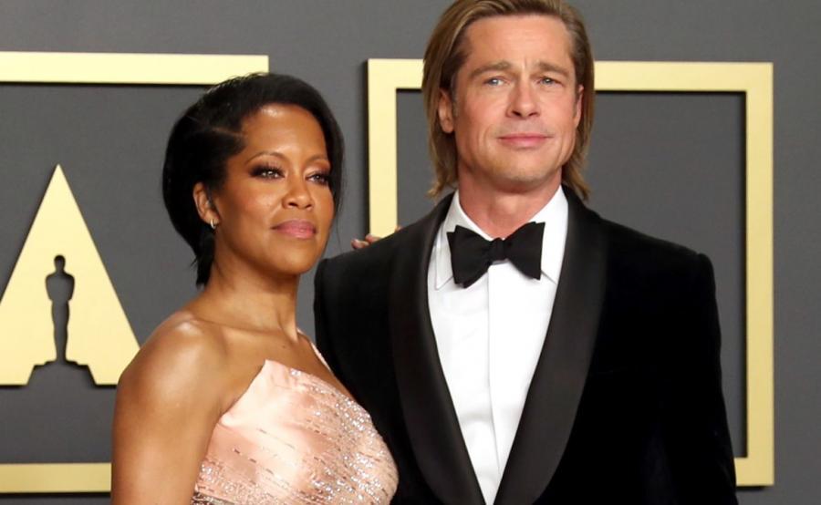 Brad Pitt i Regina KIng