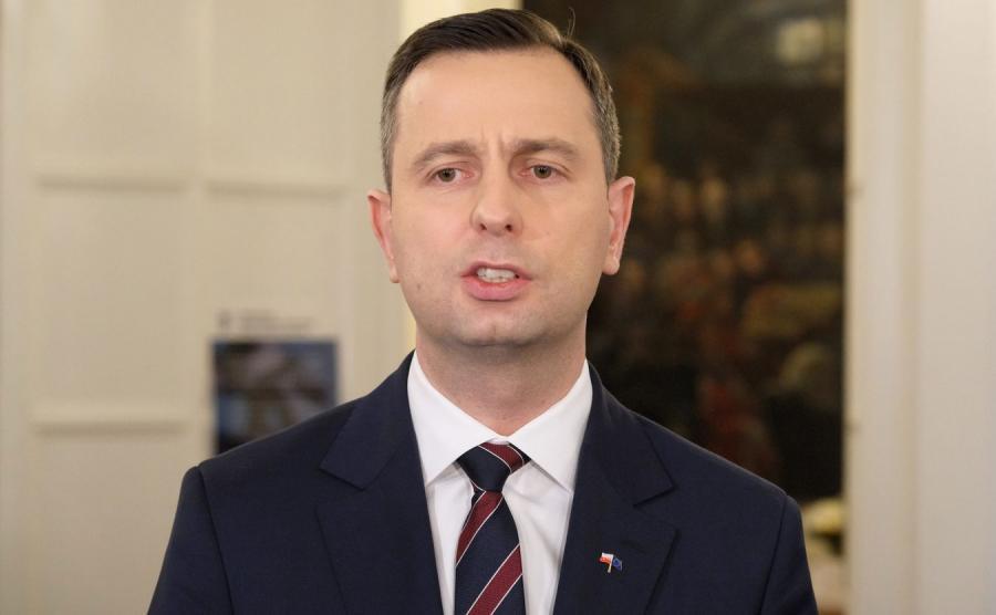 Szef PSL  Władysław Kosiniak-Kamysz