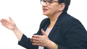 fot. Wojtek Górski Anna Zalewska, była minister edukacji narodowej i obecnie europoseł do Parlamentu Europejskiego z ramienia PiS
