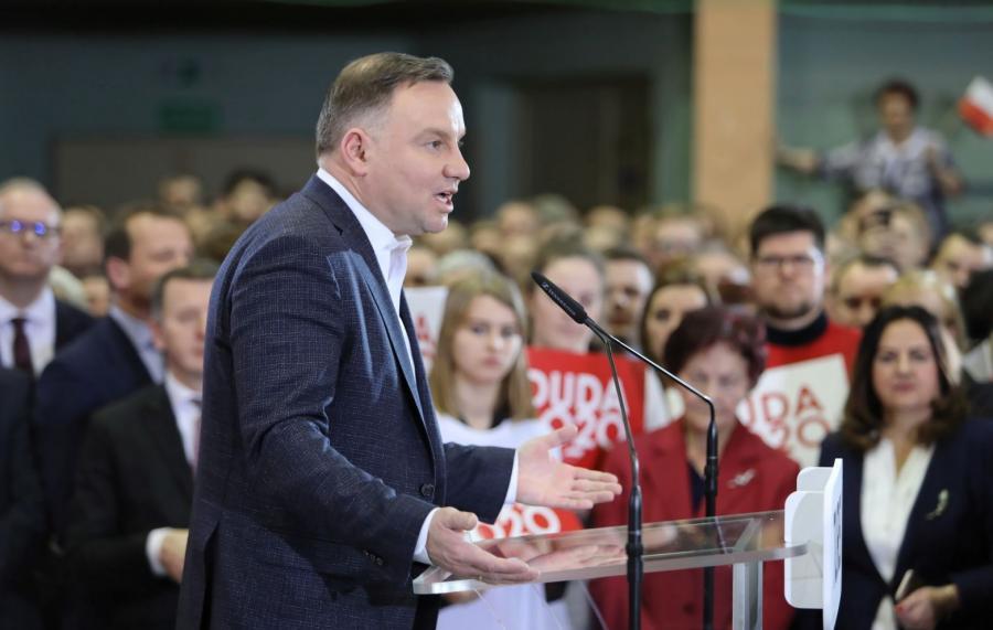 Andrzej Duda w Turku