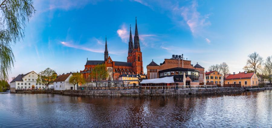 Katedra w Uppsali, Szwecja
