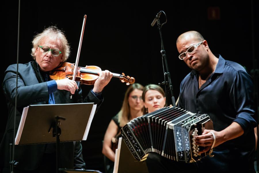 Żydowskie Tango na Orkiestrę Polin Music Festival Fot. Maciej Jaźwiecki (Muzeum POLIN)