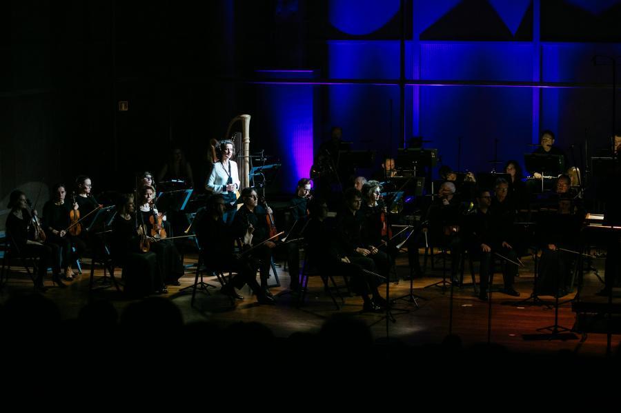Dziewczęca orkiestra w Birkenau Polin Music Festival Fot. Maciej Jaźwiecki (Muzeum POLIN)