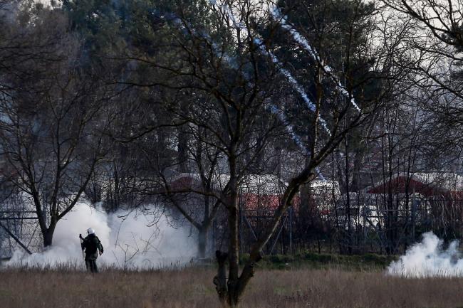 zamieszki na granicy Grecja-Turcja
