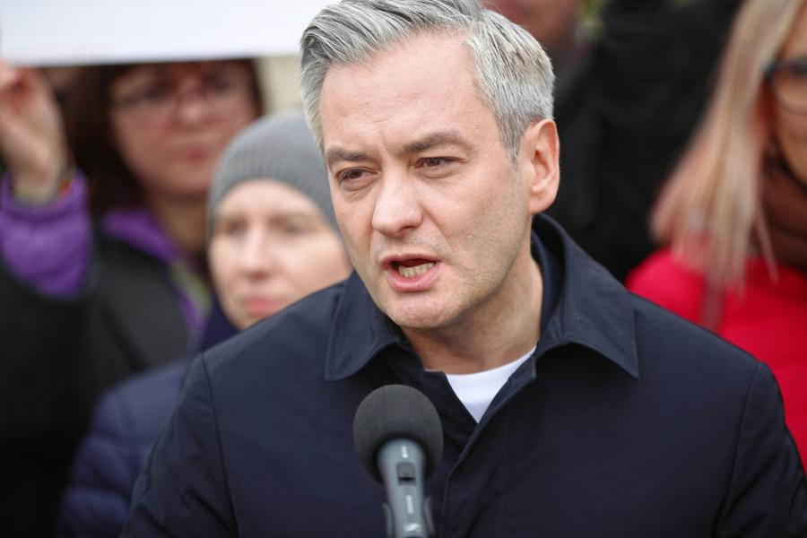 Lider Wiosny Robert Biedroń