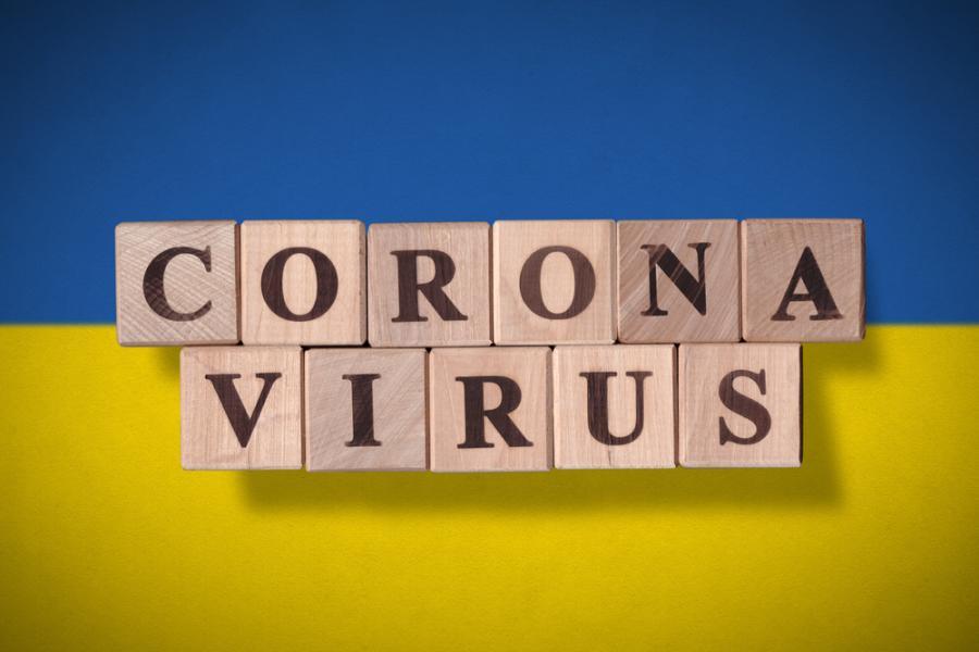 Koronawirus. Ukraina. Na Ukrainie. Covid-19