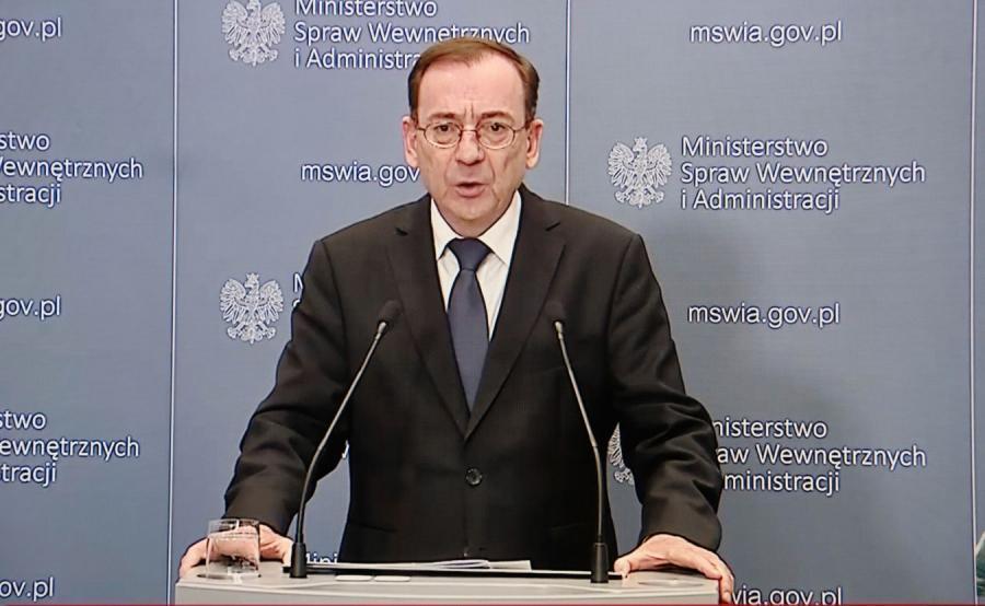 Konferencja Mariusza Kamińskiego