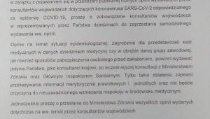 list Józefy Szczurek-Żelazko