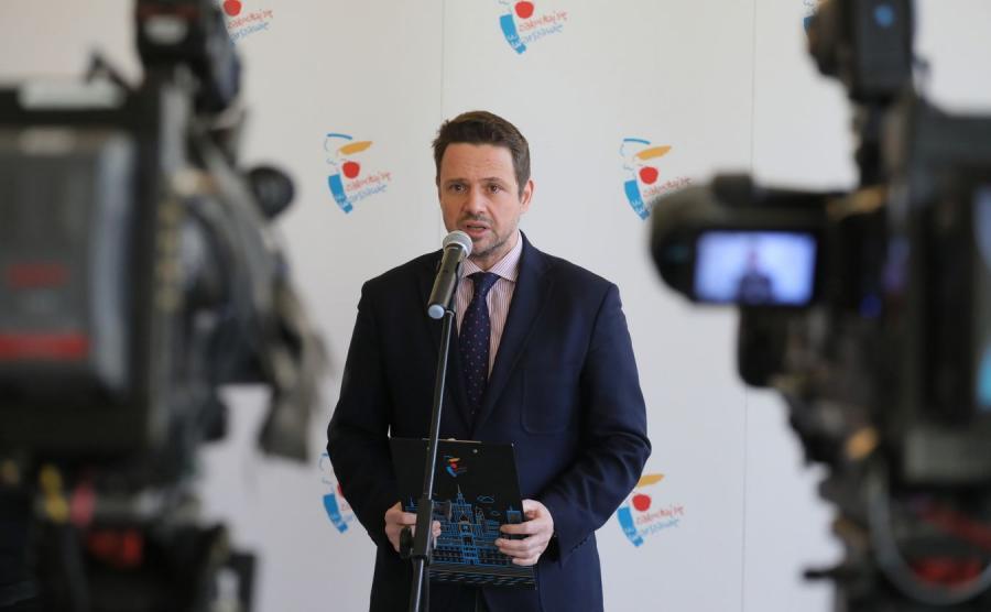 Rafał Trzaskowski konfa